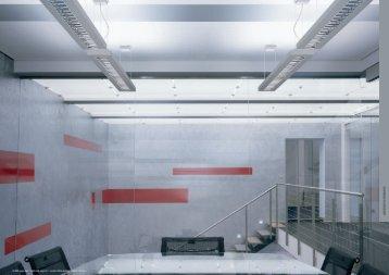 Suspended Fluorescent   Architectural Lighting Associates (ALA, Inc.)