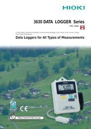 3630series DATA LOGGERs