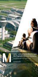 Liefer- und Leistungsbeziehungen - Flughafen München