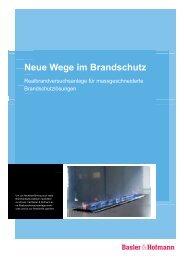Kompetenzprofil Brandschutz - Basler & Hofmann