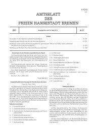 Immatrikulationsordnung - Hochschule Bremen