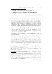 Vers la conjecture de Poincaré, J. Milnor