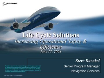 Life Cycle Solutions - ICAO