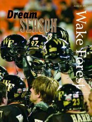 Wake Forest Magazine, March 2007 - Past Issues - Wake Forest ...