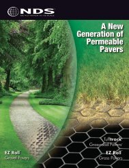 Permeable Pavers Brochure - Drainage Solutions, Inc.