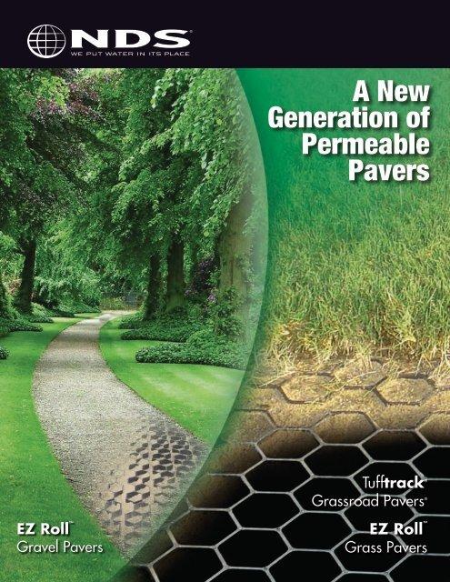 Permeable Pavers Brochure - Drainage Solutions, Inc