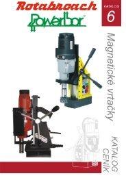 katalog magnetické vrtačky 2009.indd - ARC-H Welding sro