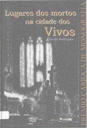 Lugares dos mortos na cidade dos vivos - rio.rj.gov.br