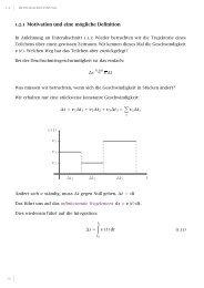 Integralrechnung und Vektoren