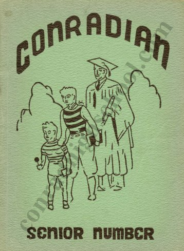 1939 Conradian Yearbook - Henry C. Conrad High School