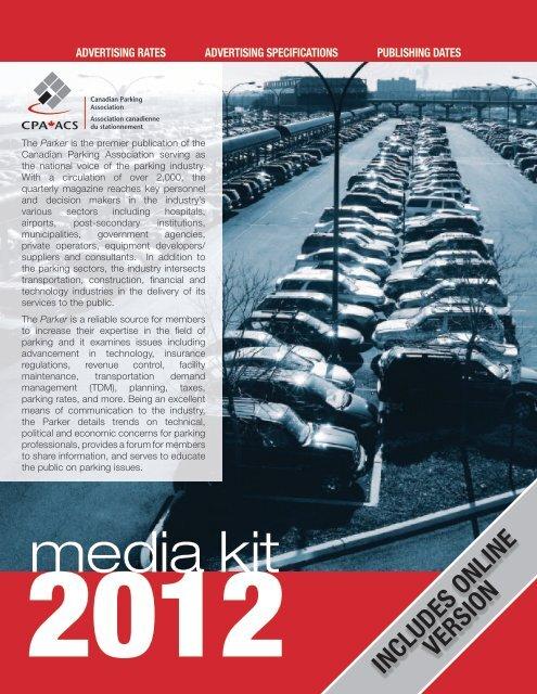media kit - Canadian Parking Association