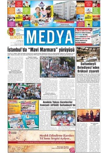 """İstanbul'da """"Mavi Marmara"""" yürüyüşü - gerçek medya gazetesi"""