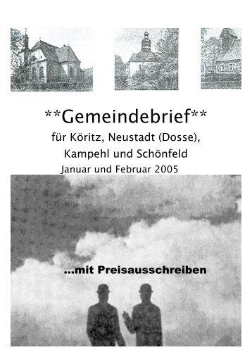 Nr.1 (Jan,Feb. 2005)