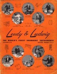 1953-A Leedy & Ludwig Drum Catalog Copyright ... - drumarchive.com