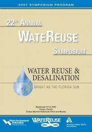 Conference Program - WateReuse Association