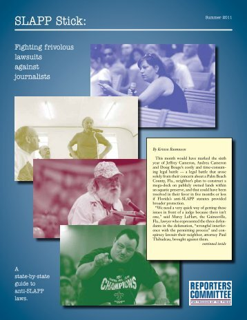 Download/View Free PDF - Reporters Committee for Freedom of the ...