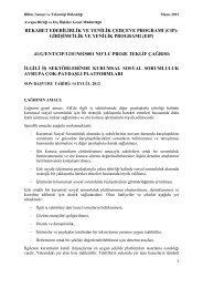 Kurumsal Sosyal Sorumluluk - Bilim, Sanayi ve Teknoloji Bakanlığı