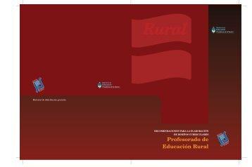 Profesorado de Educación Rural - Repositorio Institucional del ...