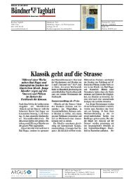 Bündner Tagblatt - Bad Ragartz