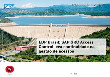 EDP Brasil: SAP GRC Access Control leva continuidade na ... - Finity