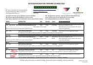 Fairbridge Outdoor Recreation Courses 2013.xlsx - Outdoors WA