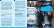 Informacije za putnike - Carinska uprava