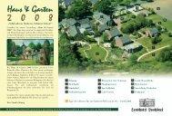 Haus & Garten 2 0 0 8 Haus & Garten 2 0 0 8 - Landhotel Voshövel