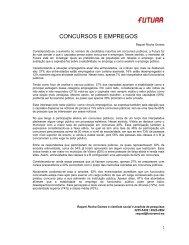 CONCURSOS E EMPREGOS - FuturaNet