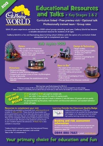 here - Cadbury World