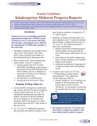 Guidelines for K-2 Midterm-Report Cards - Henderson County ...
