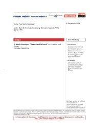Ihre Recherche vom: 09.09.04 12:02:28 - Moritz Hunzinger