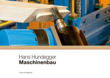 Hans Hundegger Maschinenbau Hans Hundegger Maschinenbau