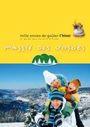 Massif des Vosges - Tourisme Alsace