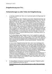 Entgeltordnung - Hochschule Bremen