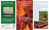 Seasons of the Soul™ - Flower Essence Services