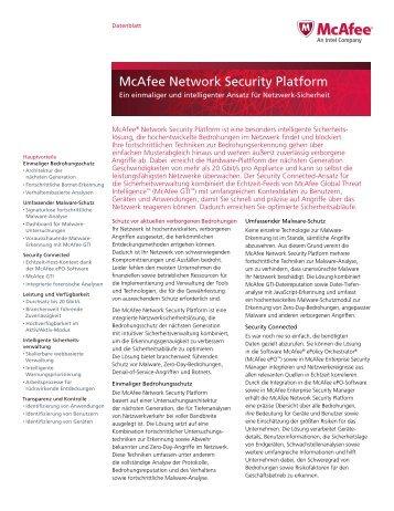 McAfee Network Security Platform