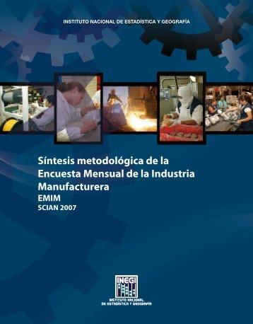Síntesis metodológica - Inegi