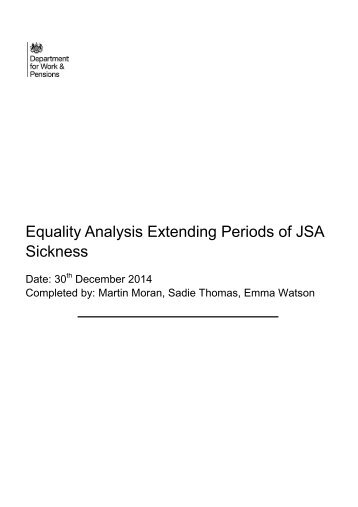 equality-analysis-extending-periods-of-jsa-sickness