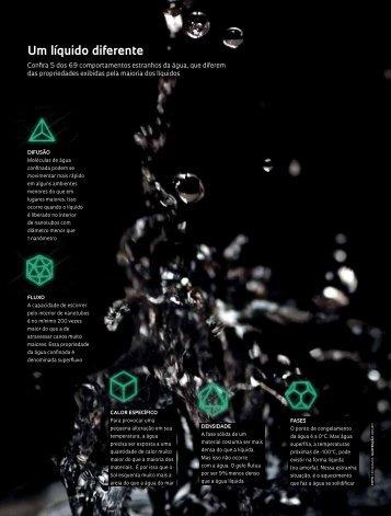 O lado esquisito da água - Revista Pesquisa FAPESP