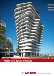 Marco Polo Tower, Hamburg (PDF - Lindner Group