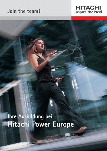 Brochuere_Ausbildung_30-01:Prsp_Ausbildung_D - Hitachi Power ...