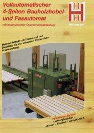 Vollautomatischer ~ - Hundegger Maschinenbau Gmbh