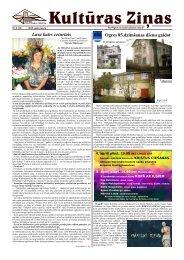 Kulturas Zinas Nr 5 - Ogres Kultūras centrs