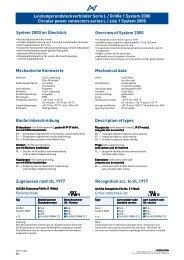 M23 Series L - Type System 2000 - Argenta Elektronik GmbH