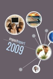 National Research Foundation Annual Report 2008 / 2009 [Part 2]