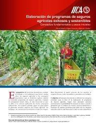Elaboración de programas de seguros agrícolas exitosos y ...