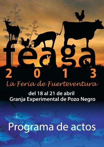 Feaga 2013 - Cabildo de Fuerteventura