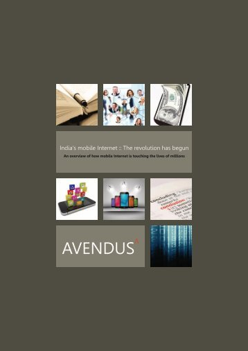 Avendus_Report-India's_Mobile_Internet-2013