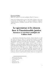 Affaire Sofri - ReprésentationS