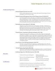 Resume - Rangwala Associates